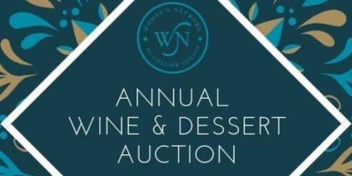 WNOCC December Member Annual Wine & Dessert Auction