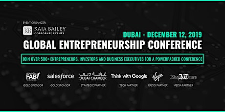 Global Entrepreneurship Conference Dubai (GECDXB) tickets