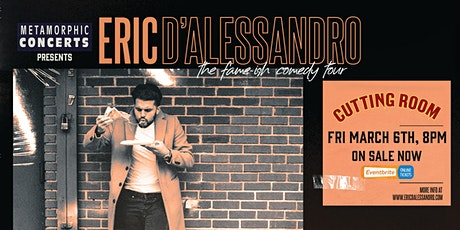 Eric D'Alessandro tickets