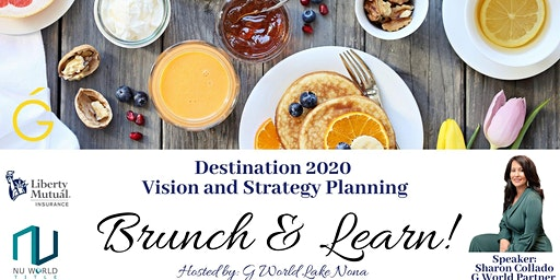Destination 2020 - Vision and Strategy Planning Worksop