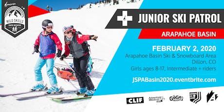 WILD SKILLS Junior Ski Patrol: Arapahoe Basin tickets