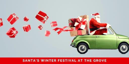 Santa's Winter Festival at The Grove