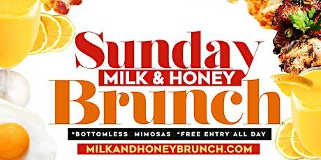 MILK & HONEY SUNDAY BRUNCH & DAY PARTY @MEDUSALOUNGE   tickets