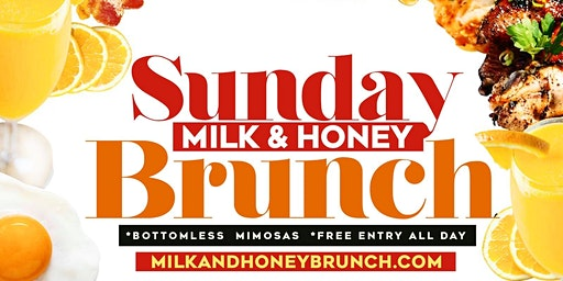 MILK & HONEY SUNDAY BRUNCH & DAY PARTY @MEDUSALOUNGE