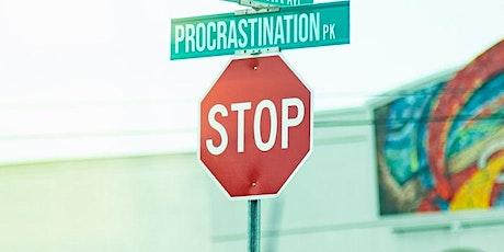 Let's Beat Procrastination Together Workshop tickets