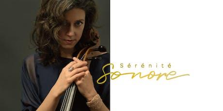 Bach en hamacs - Elinor Frey, violoncelliste tickets