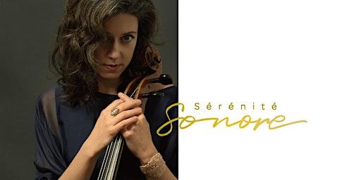 Bach en hamac - Elinor Frey, violoncelliste
