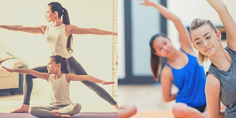 FAMILY YOGA CLASS /TEEN YOGA WORKSHOP tickets