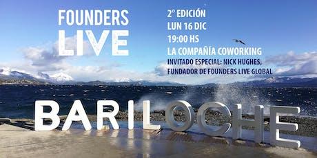 Founders Live Bariloche Patagonia - 2° edición entradas