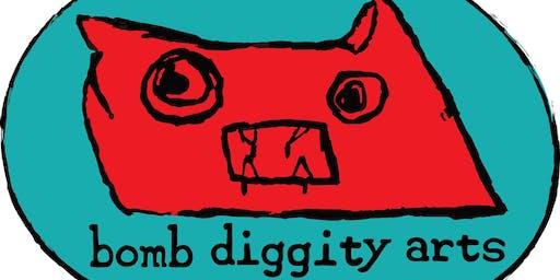 Bomb Diggity Arts Holiday Bash!