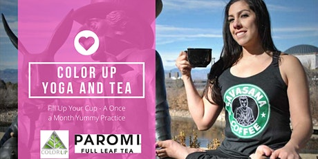 Yummy Yoga with Delicious Color Up Paromi Tea! tickets