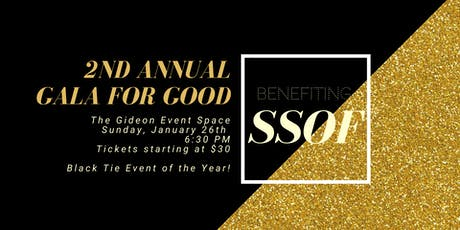 2nd Annual Gala for Good tickets