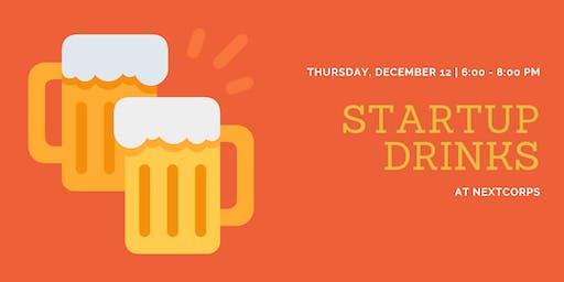 Startup Drinks: December 2019