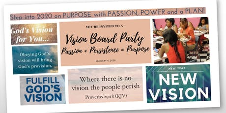 2020 New Year...New Decade...Vision Board Event tickets