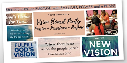 2020 New Year...New Decade...Vision Board Event