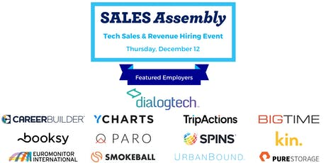 Tech Sales & Revenue Hiring Event tickets
