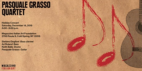 Pasquale Grasso Quartet, Holiday Concert tickets