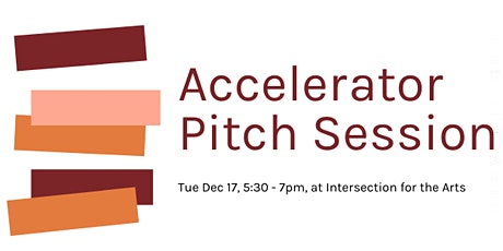 Accelerator Pitch Session tickets