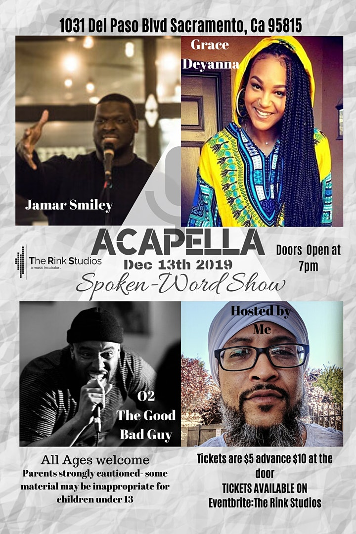 Acapella Poetry Night image