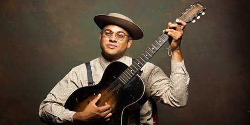 Dom Flemons with opener Nora Brown