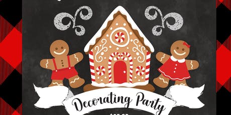 Please join us for a sweet gingerbread house decorating party tickets