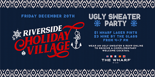 Ugly Sweater Party, Riverside Holiday Village
