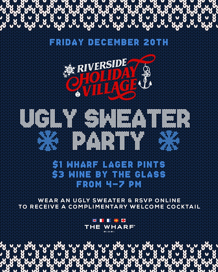 Ugly Sweater Party, Riverside Holiday Village image