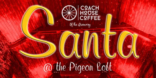 An Evening with Santa Claus @ Coach House Coffee Mon Dec 16