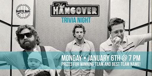 The Hangover Trivia Night