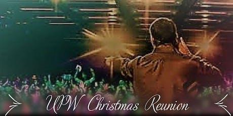 UPW Christmas Reunion tickets