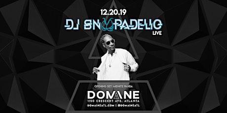 Domaine Fridays with DJ SNOOPADELIC on Friday 12.20.19 tickets