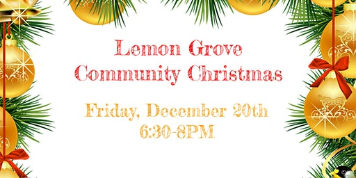 Lemon Grove Community Christmas