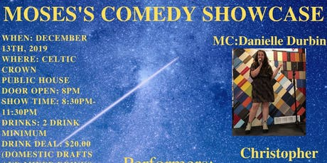 Moses's Comedy Showcase tickets