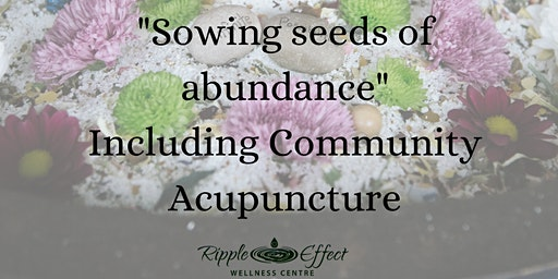 Sowing Seeds of Abundance (with Community Acupuncture & Light Language)
