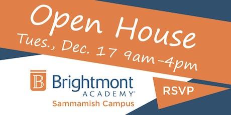 Brightmont Academy - Sammamish Open House tickets