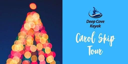 Deep Cove Carol Ship Kayak Tour