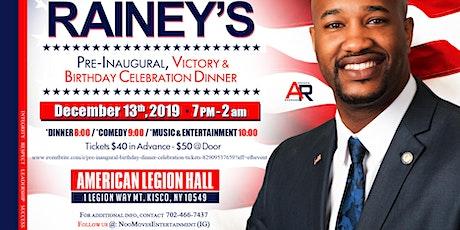 Pre-Inaugural, Birthday Dinner, Celebration tickets