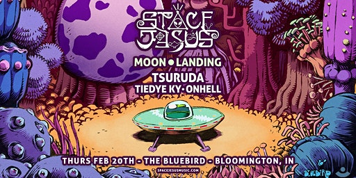 Space Jesus - Moon Landing Tour