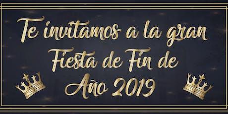 FIESTA DE FIN DE AÑO 2019 entradas