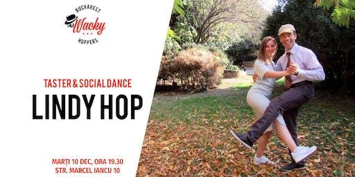 Lindy Hop Taster & Social Dance