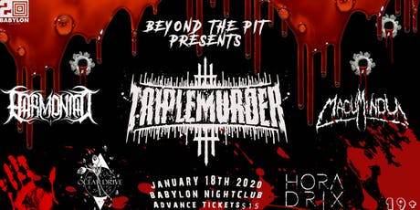 Triple Murder at Babylon Nightclub tickets