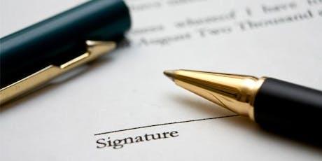 GCAAR Contracts with Derick Hammond tickets