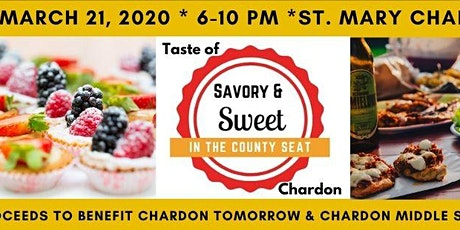 Taste of Chardon: Savory & Sweet in the County Seat tickets