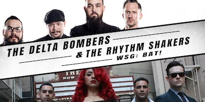DELTA BOMBERS, THE RHYTHM SHAKERS, BAT!