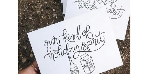 Hand Lettering Class with Lauren (2019-12-09 starts at 6:00 PM)