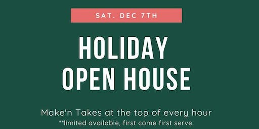Holiday Open House at Scrap of Paradise
