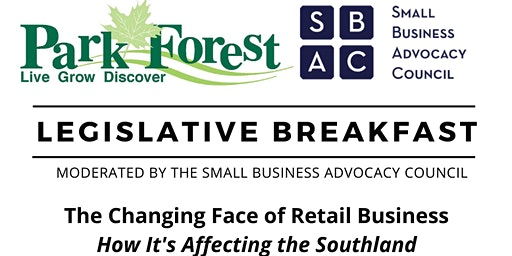LEGISLATIVE BREAKFAST: The Changing Face of Retail Business