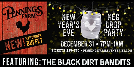 New Year's Eve Keg Drop Party at Pennings Farm