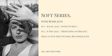 Soft Series Pt 1. Notes to Self tickets