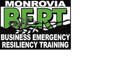 2020 BERT Unit 3: Fire Safety & Utility Awareness tickets